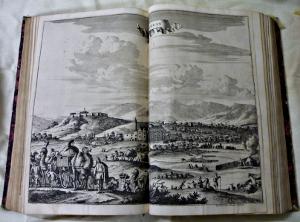 Gravure d'Ephèse pour l'ouvrage de Dapper