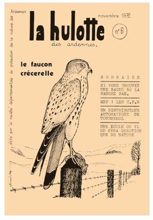 La hulotte numéro 6 le faucon Crécerelle