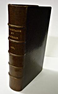 La Fontaine reliure de David pour l'édition de 1685