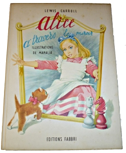 Alice à travers le miroir illustré par Matéja