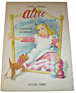 Alice à travers le miroir illustré par Matéja