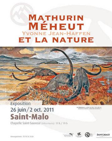Affiche de l'exposition Mathurin Méheut à Saint-Malo en 2011