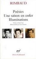 Les oeuvres de Rimbaud en poésie chez Gallimard