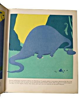 Parade des diplodocus page couleur