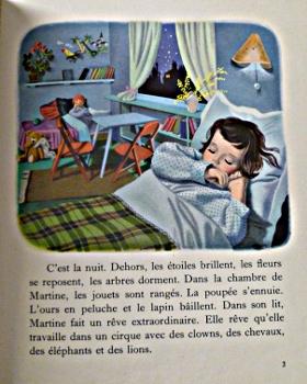 Martine au cirque 1956