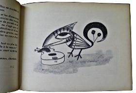 Illustration de Chris Marker pour la route aux oiseaux.