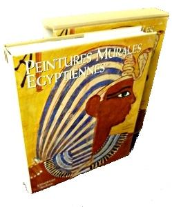 Peintures murales égyptiennes par  Francesco Tiradritti Chez Mazenod.