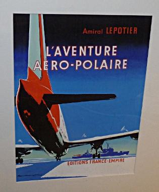 Gouache originale pour L'aventure Aéropolaire édité chez France-Empire en 1958 : 400 euros