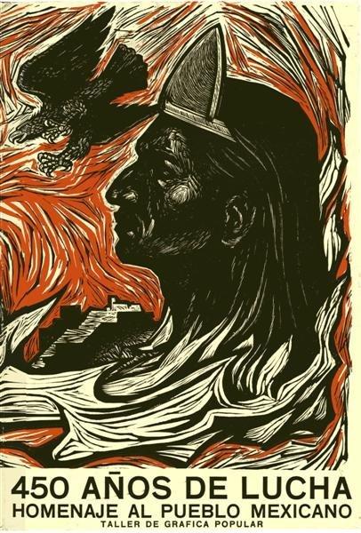 450 anos de Luchas, homenaje al pueblo mexicano.