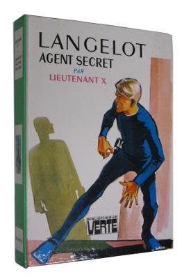Premier volume de la série Langelot par le Lieutenant X pseudonyme de Vladimir Volkoff