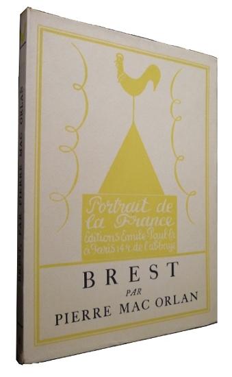 Brest par Mac Orlan chez Emile Paul en 1926