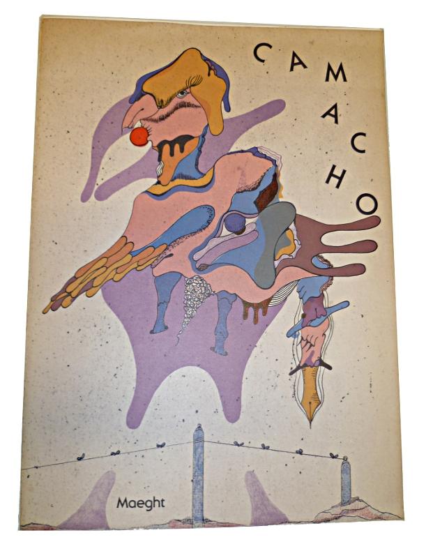 Camacho, histoire des oiseaux chez Maeght en 1982