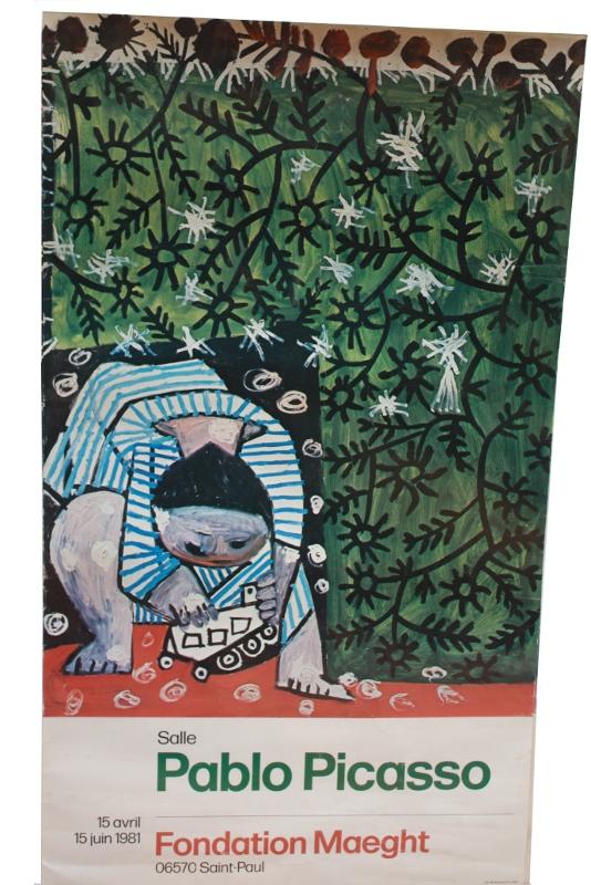 Picasso chez Maeght d'avril à juin 1981 : affiche.