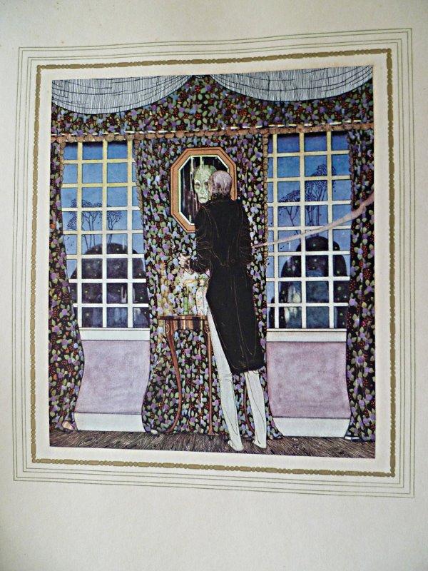 """Illustrations en couleurs de Kay Nielsen, pour """"Sous le signe du Rossignol"""" de Henry Jacques 1 des 1500 exemplaires tirage unique sur japon2."""