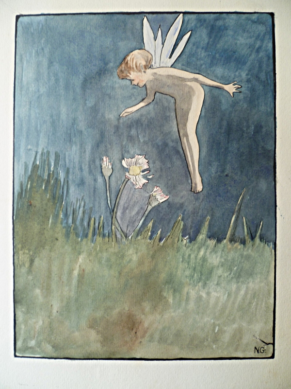 the little fairy aquarelle