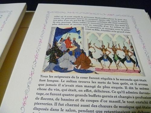 Illustrations de Lemarié pour les contes des mille et nuits