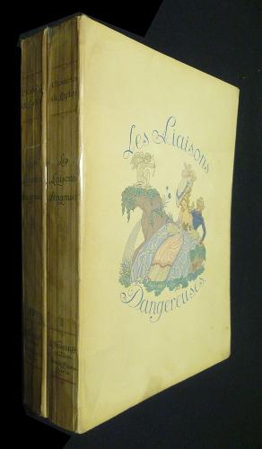 """Illustrations de George Barbier  pour """"les liaisons dangereuses"""""""