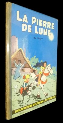 La Pierre de Lune, édition originale, Dupuis, Peyo, 1956