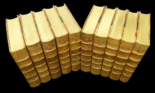 Les 10 volumes des Mémoires de Casanova chez Javal et Bourdeaux en 1931 illustrées par Leroux