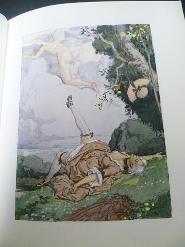 Illustration d'après une aquarelle originale de Leroux pour les mémoires de Casanova