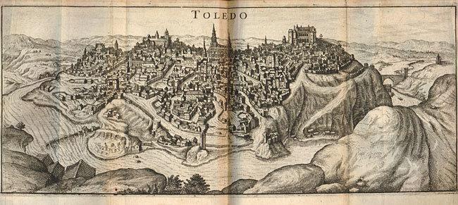 Vue de Toléde 1635
