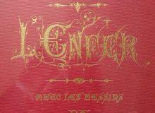 Couverture stylisée de LEnfer, Dante et Doré