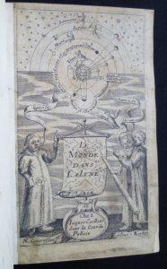 Fronitspice avec Copernic, Galilée et Kepler
