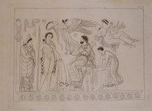 Peintures antiques et inédites de vases grecs tirées de diverses colllections avec des explications, par J.V. Millingen, 1823