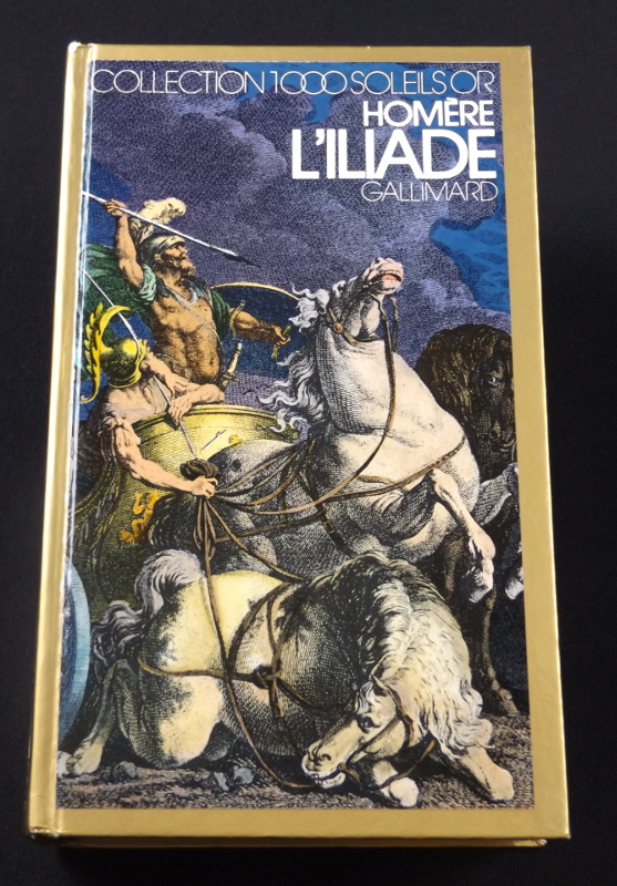 Iliade, Homère, Gallimard, Collection 1000 soleils OR