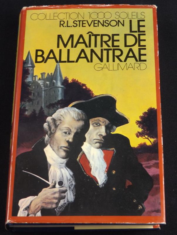 Le maître de Ballantrae, R.L Stevenson, Gallimard, Collection 1000 Soleils, jaquette de Nicollet