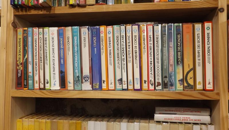 Etagère librairie