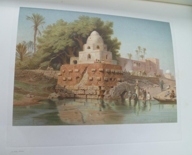 Le Nil- 24 aquarelles