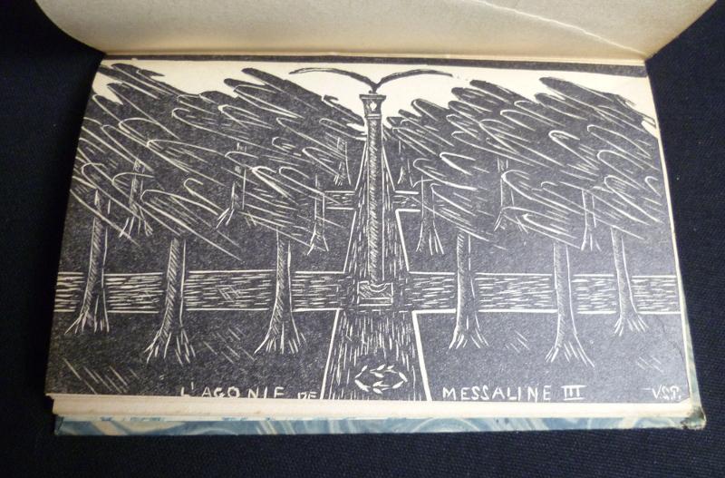 Illustration pour l'édition de L'âme impériale ou l'Agonie de Messaline imprimée en 1929