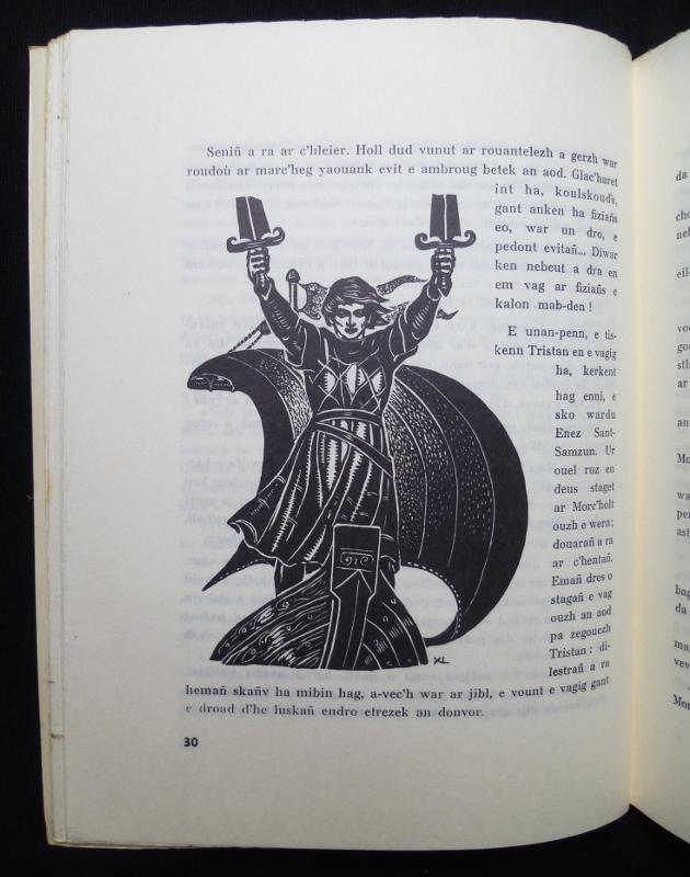 """""""Tristan hag Izold"""" de Xavier de Langlais"""