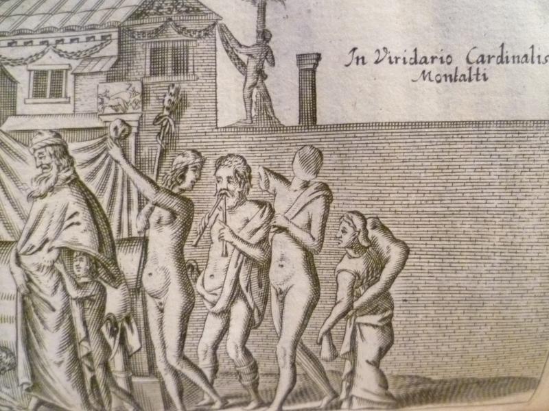 Détail d'une gravure de 1689