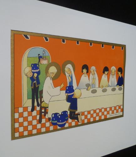 Illustration en couleurs de Jeanne Hebbelynck