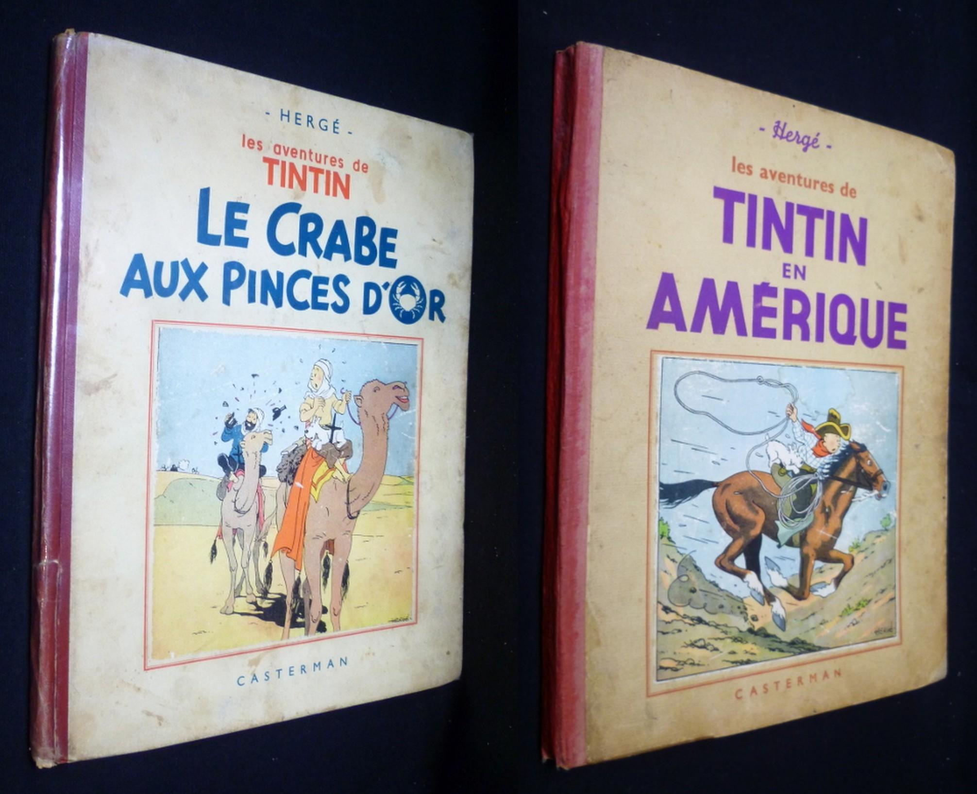 TINTIN Hergé RG tintin.com